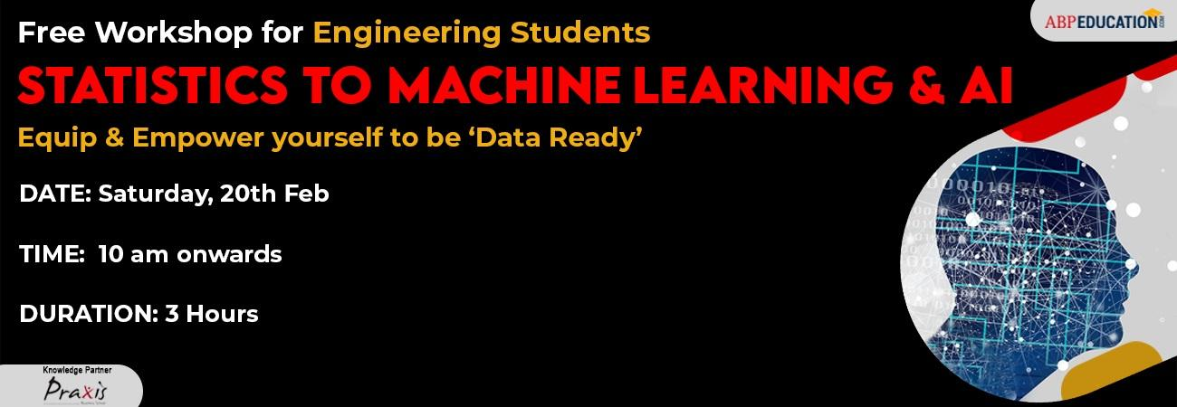 Workshop on 'Statistics to machine learning and AI'