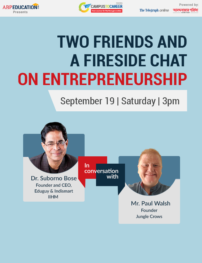 Two Friends and a Fireside Chat On Entrepreneurship