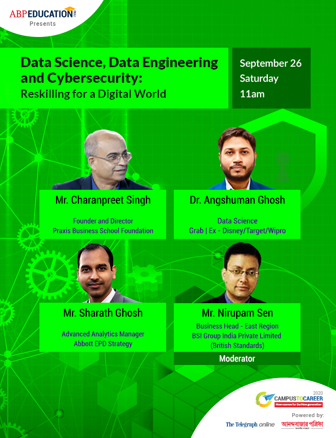 Data Science, Data Engineering and Cybersecurity: Reskilling for a Digital World